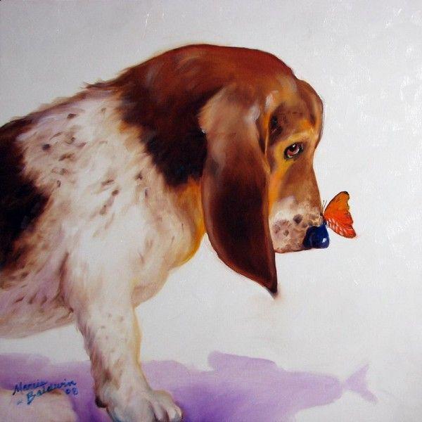 Прекрасные картины животных   Marcia Baldwin