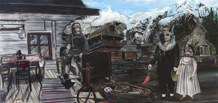 Revenant Dick 120 x 250 cm, 2016