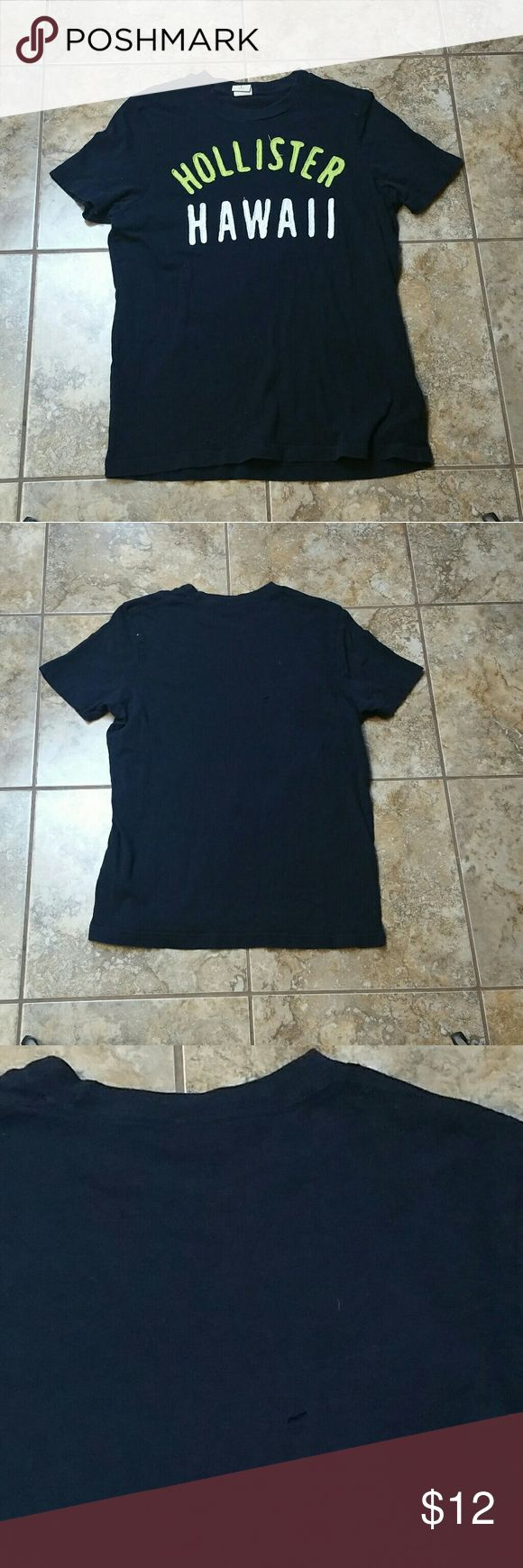 Black t shirts hollister - Hollister Hawaii Graphic T Shirt