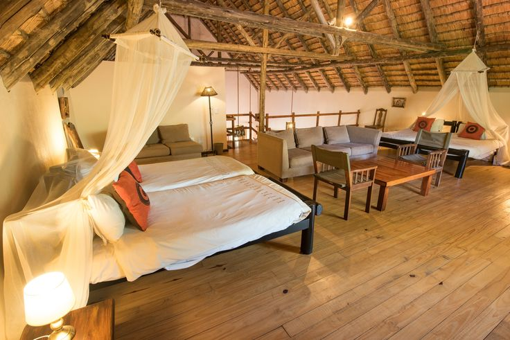 Bedroom on the loft which sleep 2-4 people. #SefapaneMagic