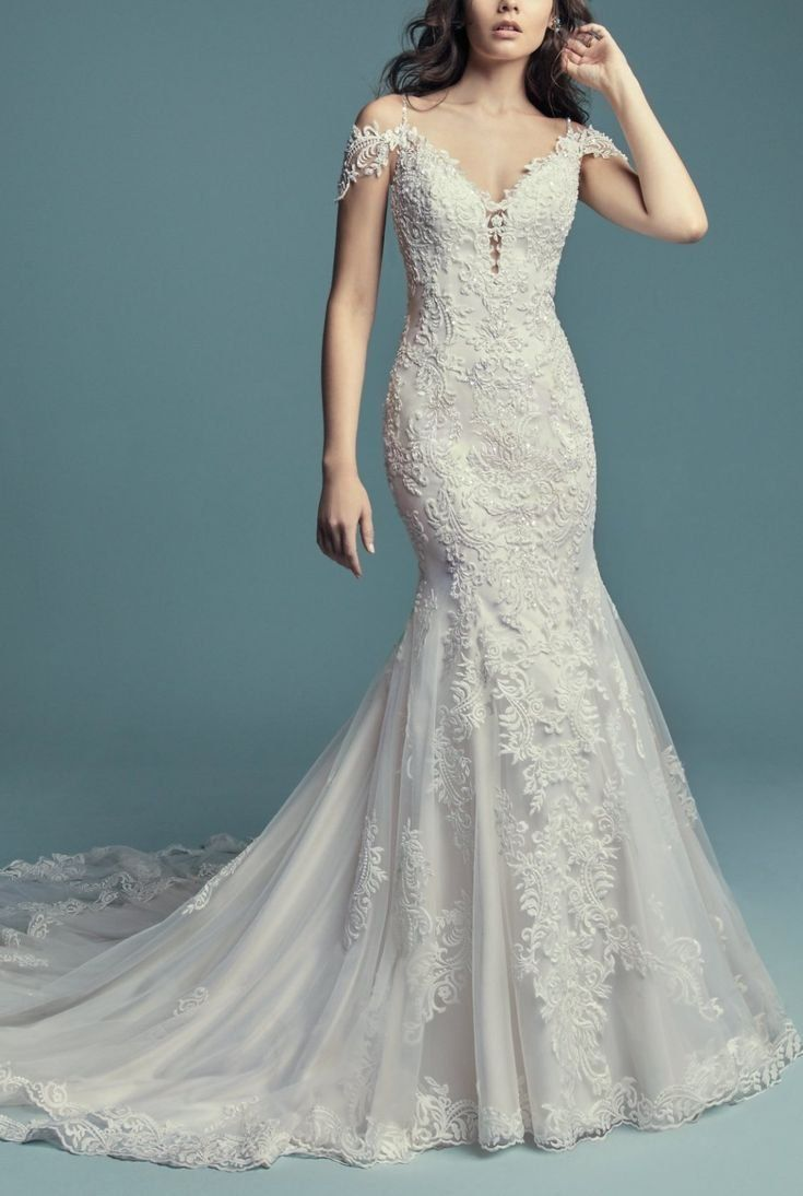 Della By Maggie Sottero Wedding Dresses Bridal Gowns Mermaid Wedding Dresses Lace Fitted Wedding Gown