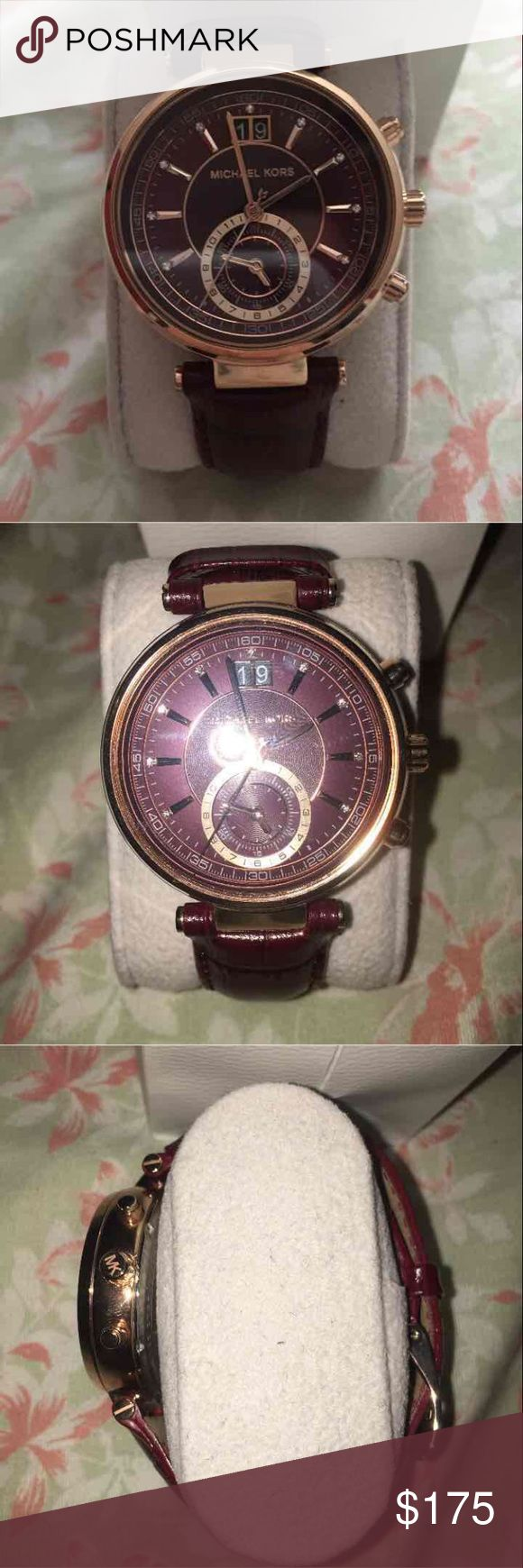 Michael Kors Watch New Michael Kors Watch! Only used to wear to an event once! KORS Michael Kors Accessories Watches