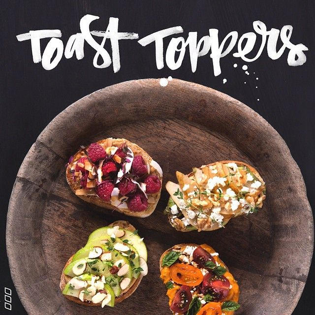 fitspoholic:  These delicious toppers are sure to get you up out of bed in the morning!  Jazz up your daily bread and transform your toast to new heights!! Head to MNB.com for these tasty combinations  #lornajane #activeliving #movenourishbelieve