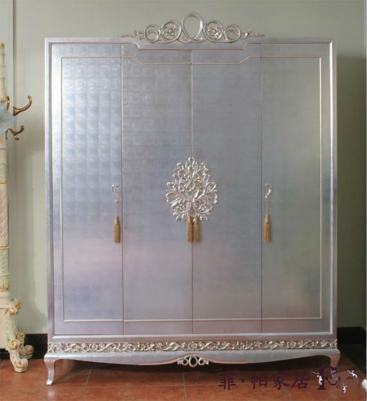 21 Best Images About Silver Leaf Furniture On Pinterest Silver Dresser Antique Glaze And Rococo