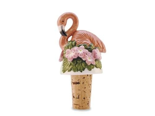 $9.88-$12.99 Tropical Pink Flamingo Garden Wine Cork Bottle Topper - Makes a great gift, especially when paired with your favorite bottle of wine. http://www.amazon.com/dp/B004IMSJ8Q/?tag=pin2wine-20
