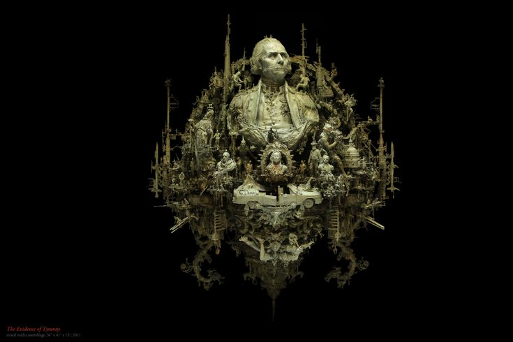 Kris Kuksi Art Sculptures dark sci-fi steampunk p wallpaper | 1800x1200 | 67656 | WallpaperUP