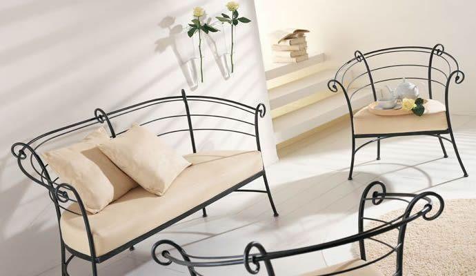 Кованая мебель - украшение любого интерьера
