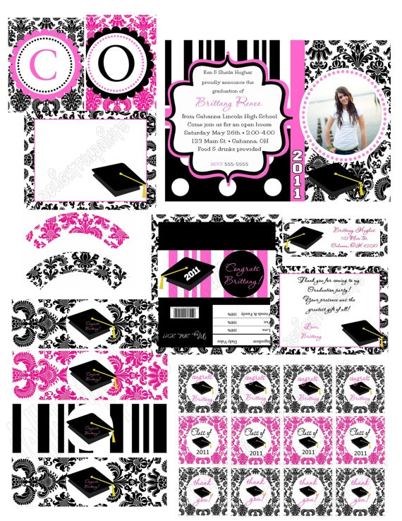 Graduation party any color complete party