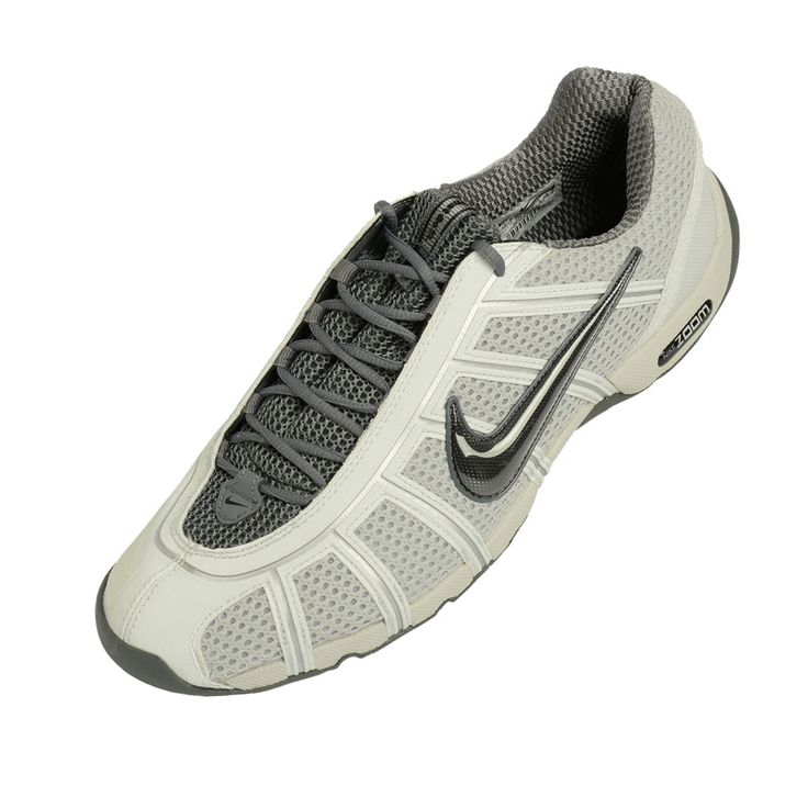 """The fencing shoe """"Nike Air Zoom Fencer"""" is known in the USA under the name Ballestra and has been designed to promote the nimble footwork of world-class athletes. flexible, abrasion-resistant materials are used in high-impact areas. The rounded heel is engineered to promote nimble advance and retreat. Zoom Air and Poron foam are used for added cushioning. Stable base of support in the forefoot. The outsole is designed to maximize traction on the fencing piste."""