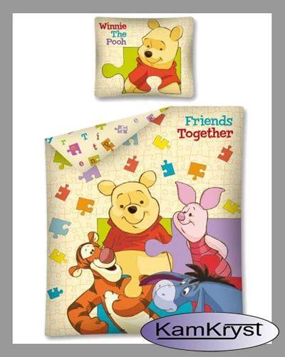 Kids bedding Winnie the Pooh Friends Together 140x200 | Dziecięca pościel Kubuś Puchatek Friends Together 140x200