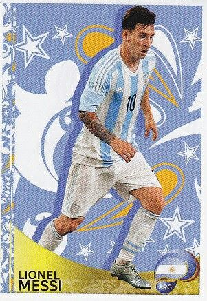 Lionel Messi of Argentina. Copa America 2016 card.