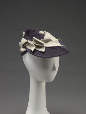 Hat, Saks Fifth Avenue, 1940's.