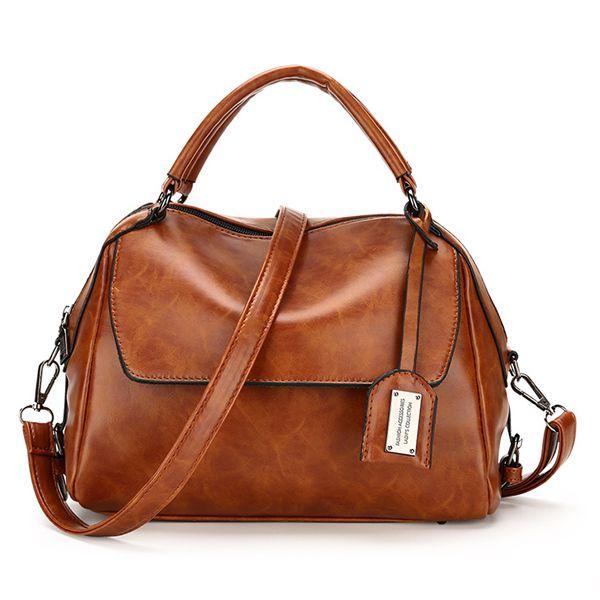 3d4833b813e4 Hot-sale designer Women Vintage PU Leather Handbag Formal Crossbody Bag  Online - NewChic Mobile