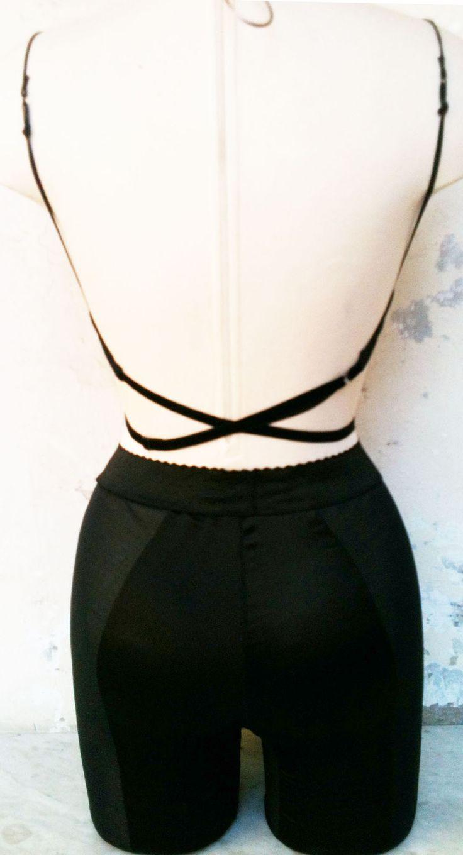 prototipo sujetador y faja vista espalda | ropa íntima ...