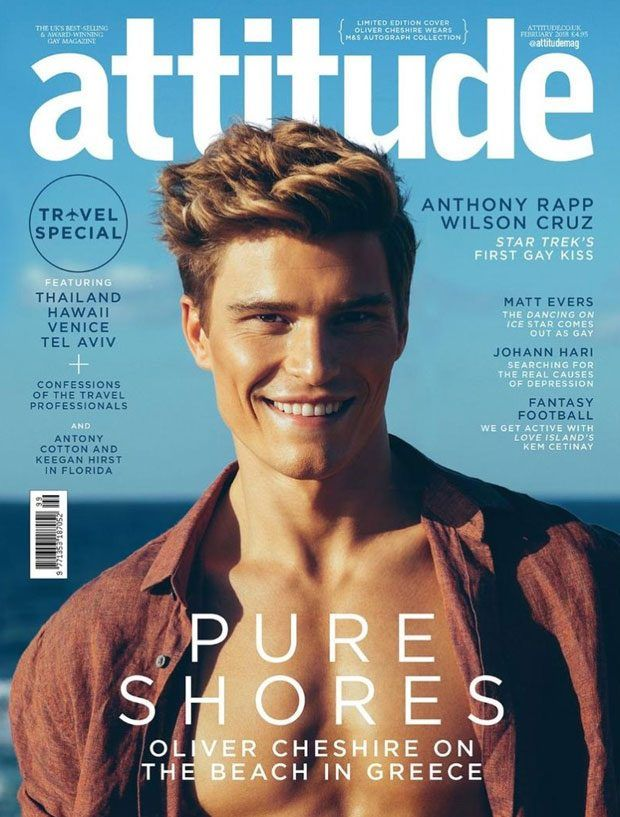 Top Model Oliver Cheshire Posing for Christian Oita