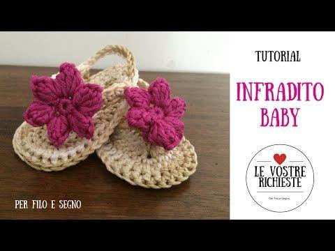 Tutorial - Infradito Baby - YouTube