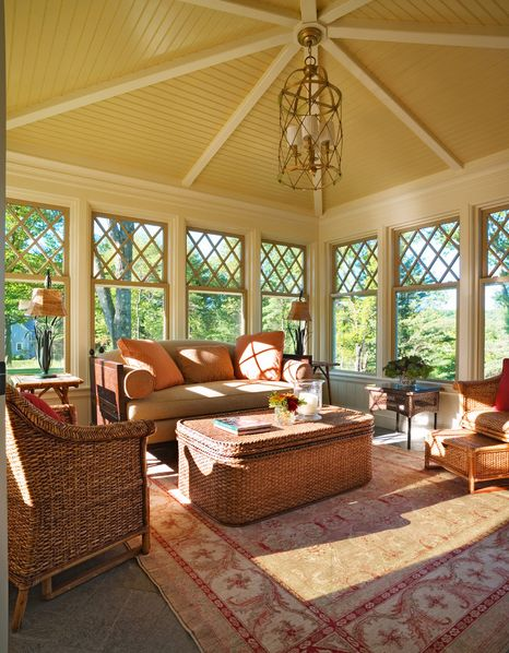 Best Sunroom Closed Porch Images On Pinterest Porch Ideas - Cottage sunroom decorating ideas mesmerizing sunroom decorating ideas