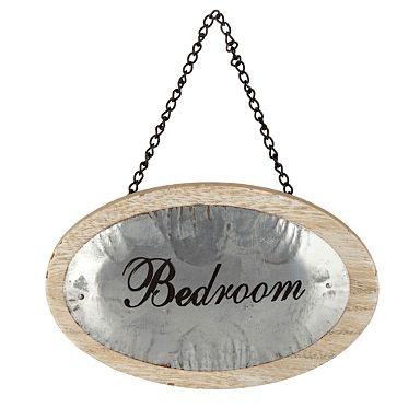 """Висит деревянная """"Спальня"""" знак - висячие украшения - Аксессуары для дома - Home & мебель -"""