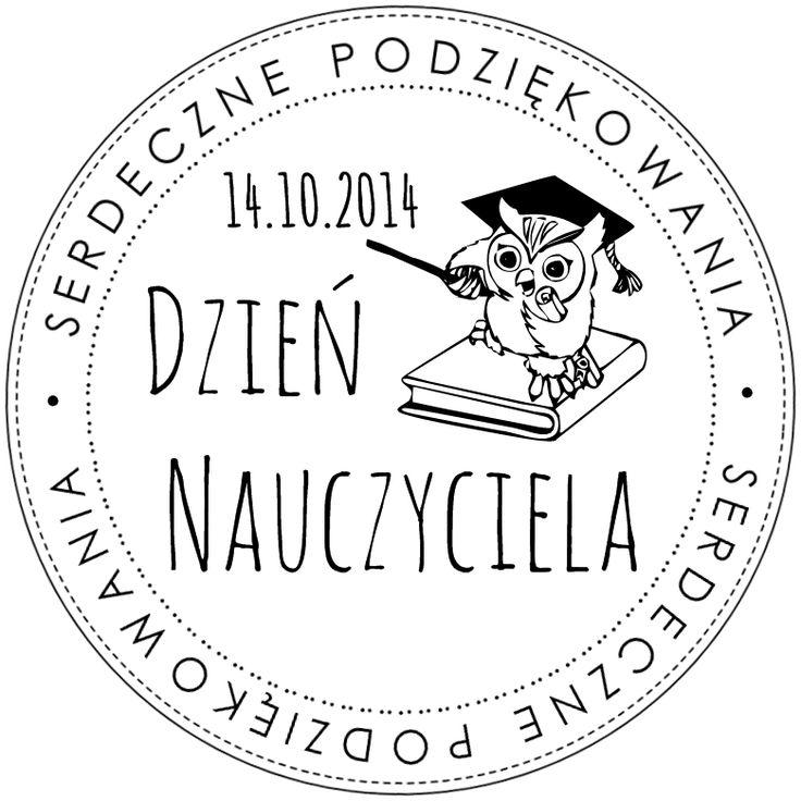 Digi stemple by Novinka: Dzień Nauczyciela 2014