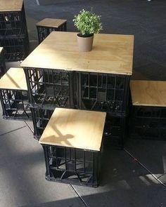 #caixotes #upcycle Pinterest:  br.pinterest.com/pinideias www.ideiasdiferentes.com.br |Imagem não autoral|