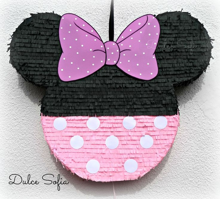 Piñata Minnie Mouse. https://www.facebook.com/dulce.soffia