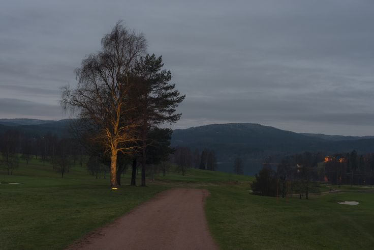 Bogstad Golf nightime