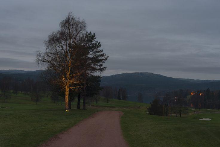 Bogstad Golf nightime