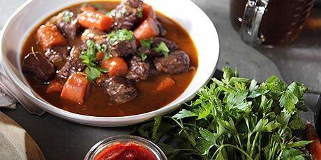 Nancy Fuller's Beef Bourguignon
