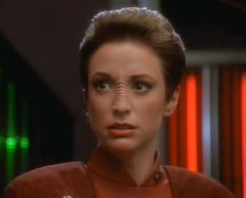 Bajoran nose creases caused by the constant stench of Federation bullshit. 5 Ways Star Trek's Federation Was An Evil Empire   Cracked.com