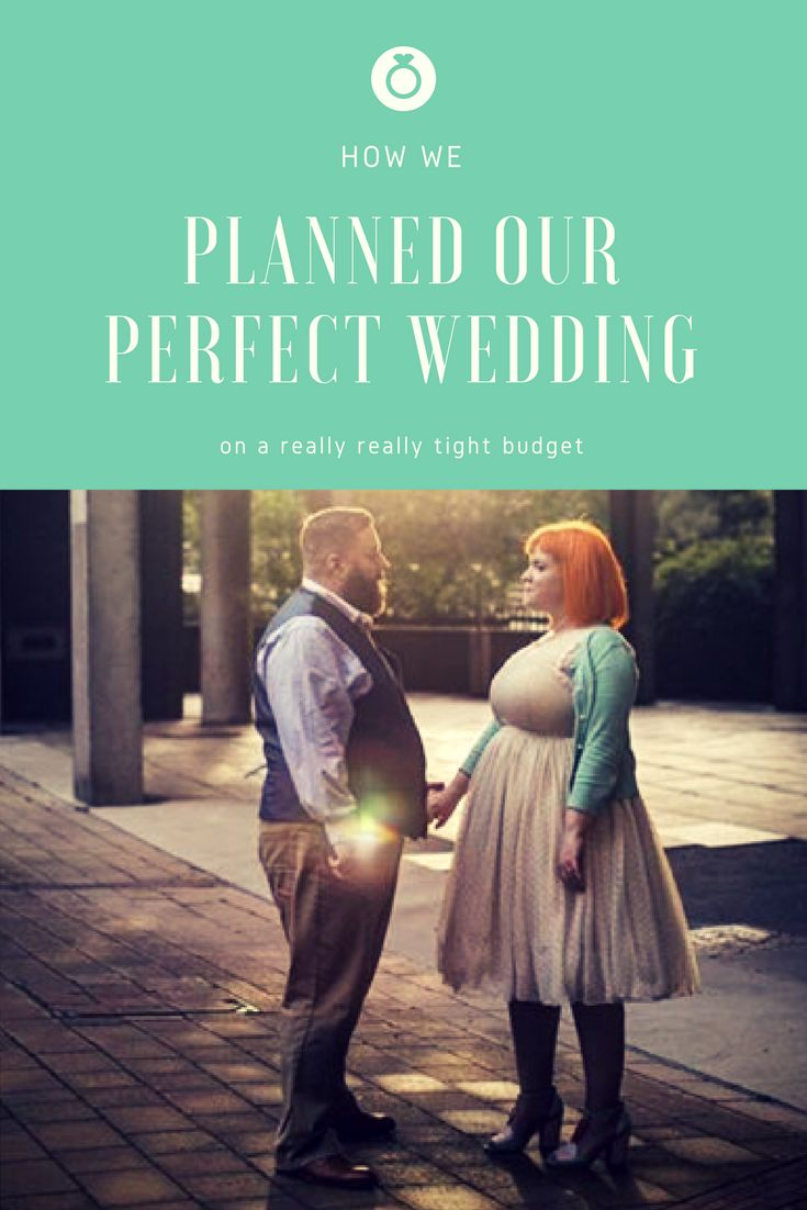 How We Planned our Perfect Wedding (on a really really tight budget) from Nelly's Cupcakes