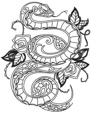 Dark Creatures - Snake design (UTH11784) from UrbanThreads.com
