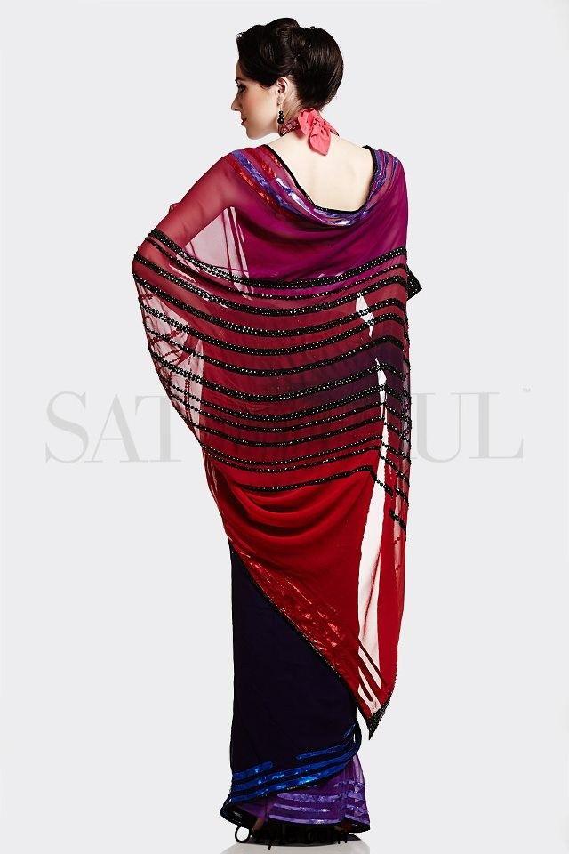 Amazing saree collection by Satya paul,www.ozyle