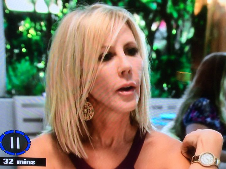 Vicki Gunvalson. Medium Bob