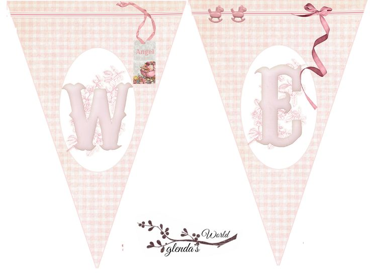 Welcome Home Baby Girl Banner Kitchen And Living Space Interior