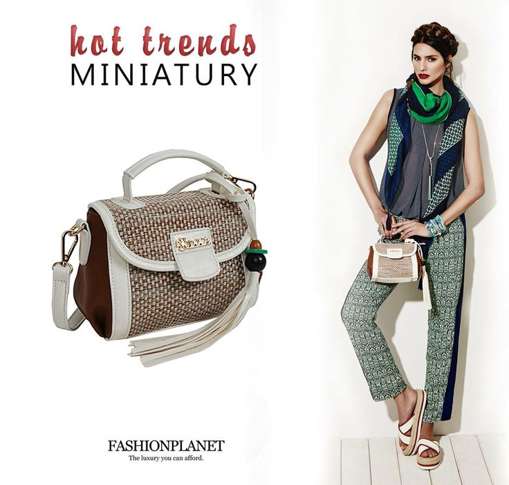 Miniature handbag trend by DOCA