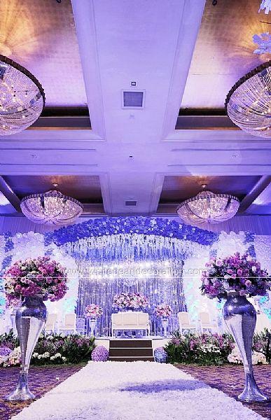 22 best wedding stage decoration ideas images on pinterest wedding white pearl decoration junglespirit Gallery