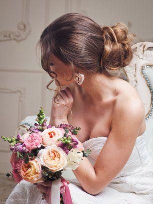 Даша Черентаева, Свадебная прическа и макияж в Москве