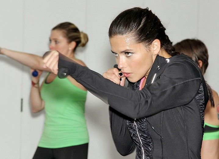 Adriana Lima's Personal Trainer Shares Her Workout