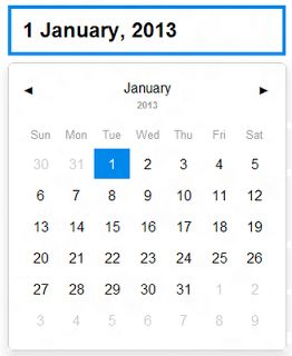 query Datepicker Date Format
