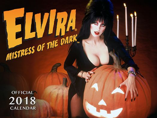 #everydayishalloween 2018 Elvira calendars are in at elvira.com      #elviramistressofthedark #elvira #calendarghoul #elviramerch