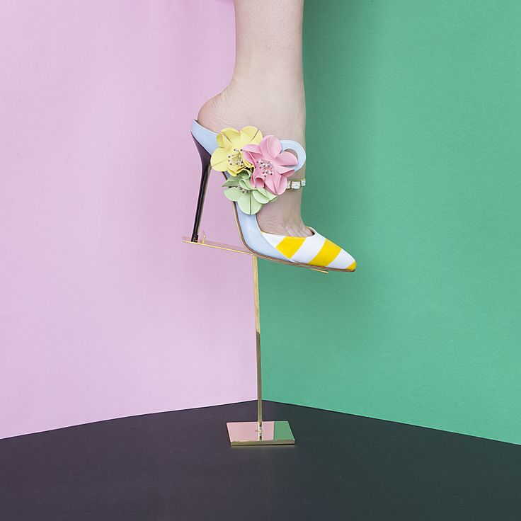 Picasso Mule  SS16  #Giannico #Shoes #PhotographyIdeas #StillLife #FashionPhotos #ShoePorn