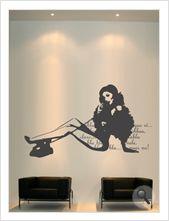 """Vinilo decorativo Flor4u®. Modelo """"Room 29"""" disponible en www.flor4u.com"""