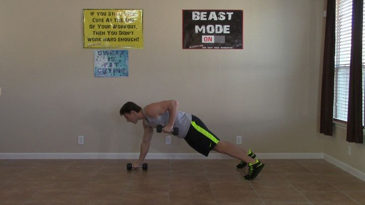 This 10 minute back and biceps workout is an intermediate difficulty routine. HASfit's back and biceps exercises are great for both men and women to do at home.