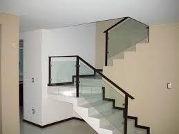 Resultado de imagen para barandales de cristal para escaleras