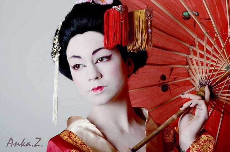 Maquillaje de Geisha.Tutorial paso a paso