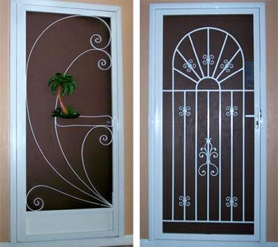 40 best vintage screen doors images on pinterest vintage for Exterior doors with screen insert