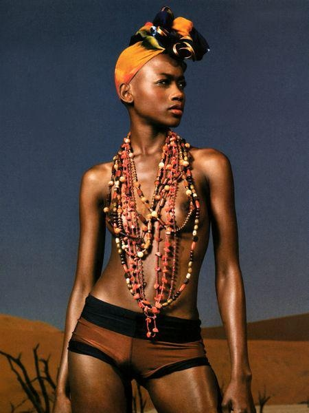 African Necklace #fashion