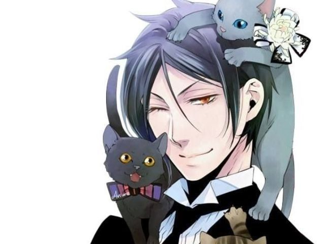 Oh fabulous~   I got: Sebastian Michaelis! What Black Butler Character is Your BFF?