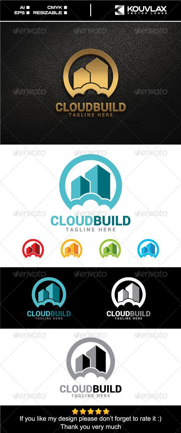 Cloud Building Logo Template