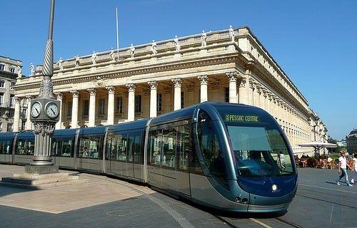 Carte du tram Bordeaux
